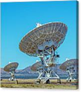 Very Large Array Side View Canvas Print