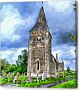 Very Old Church Canvas Print