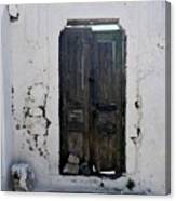 Very Old Door Canvas Print