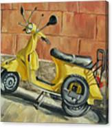 Vespa 1 Canvas Print