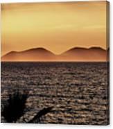 vest i Vlora. Sazan Island Canvas Print
