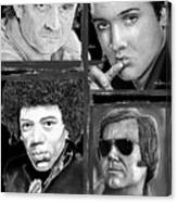 Veteran Musicians Canvas Print