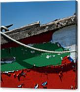 Veteran Rowboat Canvas Print