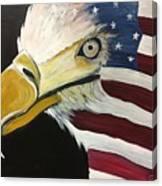 Veteran's Day Eagle Canvas Print