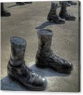 Veteran's Memorial Walk Canvas Print