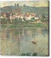 Vetheuil Canvas Print