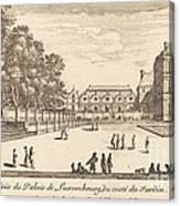 Veue Du Luxembourg Canvas Print
