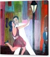 Veux Tu Tango Canvas Print