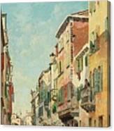 Via San Giorgio Canvas Print