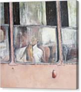 Viajando en Camello-La Habana Canvas Print