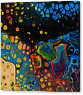 Vibrant Galaxy. Canvas Print