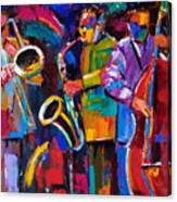 Vibrant Jazz Canvas Print
