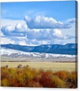 Vibrant Montana Canvas Print