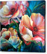 Vibrant Poppies Canvas Print