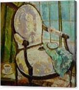 Vibrant Still Life Paintings - Afternoon Repose - Virgilla Art Canvas Print