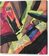 Vibrations Of Color Canvas Print