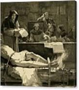 Victim Of The Spanish Inquisition Canvas Print