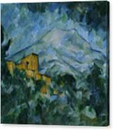 Victoire And Chateau Noir Canvas Print