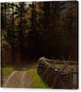 Victor Coleman Anderson  1882  1937 Road By The Woods Canvas Print