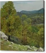 Victor Coleman Anderson  1882  1937  Rocky Uplands 1921 Canvas Print
