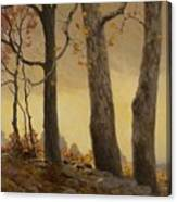 Victor Coleman Anderson 1882  1937 Wet Leaves Canvas Print