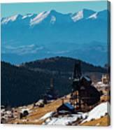 Victor Gold Mine Canvas Print