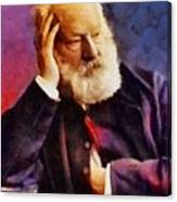 Victor Hugo, Literary Legend Canvas Print