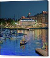 Victoria At Night Canvas Print