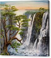 Victoria Falls Zimbabwe  Canvas Print