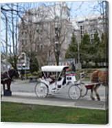 Victoria Horse Carriages Canvas Print