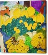 Victoria Market Canvas Print