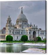 Victoria Memorial Hall Calcutta Kolkata Canvas Print
