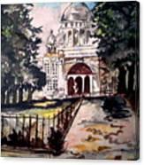 Victoria Memorial Canvas Print