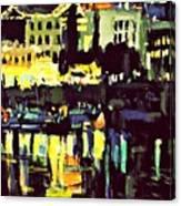 Victoria Nocturnal Canvas Print