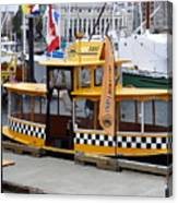 Victoria Water Taxi Canvas Print