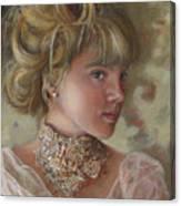 Victorian Beauty Canvas Print