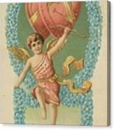 Victorian Cupid Canvas Print