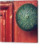 Victorian Door Handle Canvas Print