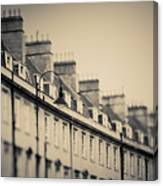 Victorian Houses In England Canvas Print