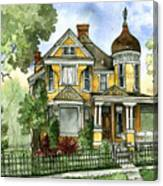 Victorian In The Avenues Canvas Print