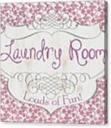 Victorian Laundry Room Canvas Print