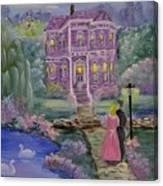 Victorian Romance 1 Canvas Print