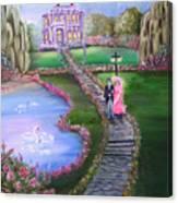 Victorian Romance 2 Canvas Print