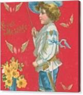 Victorian Valentine Canvas Print