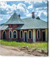 Midland Terminal Depot Canvas Print