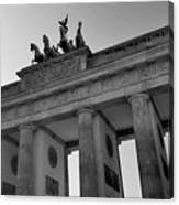 Victory Of Brandenburg Gate Canvas Print