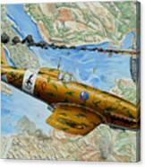 Victory Over Malta Canvas Print