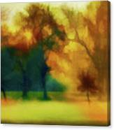 Victory Park Painted Canvas Print