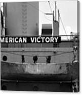 Victory Ship Canvas Print
