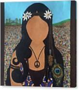 Vidas Pasadas, Woodstock 1969 Canvas Print